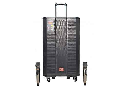 Loa kéo TDB T-1519, loa karaoke cao cấp, power max 600W