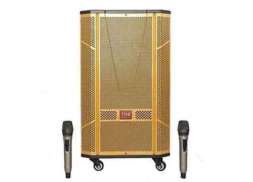 Loa kéo TDB T-1520, loa karaoke bass 4 tấc, max 600W