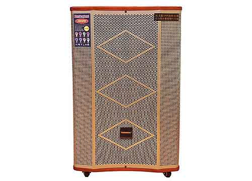 Loa kéo Temeisheng ED151-15, loa karaoke vỏ gỗ, bass 4 tấc