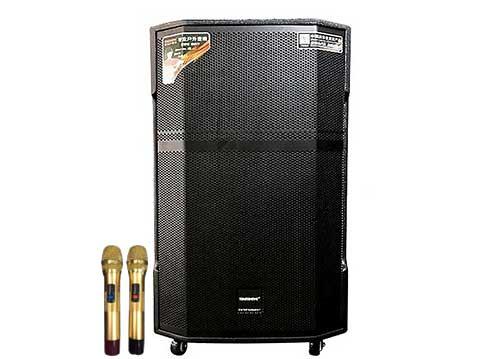 Loa kéo Temeisheng GD15-25, loa di động karaoke có mixer - 600W