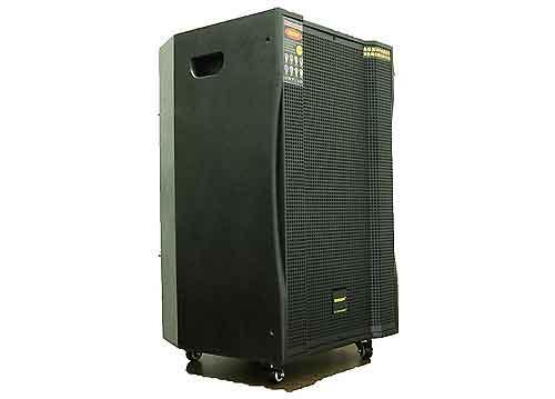 Loa kéo Temeisheng GD15-60, loa karaoke vỏ gỗ, max 600W
