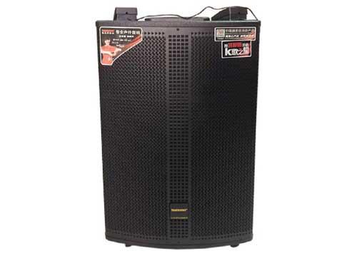 Loa kéo Temeisheng QX15-37, loa karaoke tích hợp trống điện tử