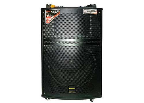 Loa kéo Temeisheng QX151, loa di động hát karaoke, củ bass 4 tấc