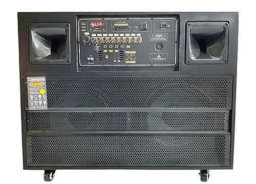 Loa kéo tủ tivi, loa karaoke vỏ gỗ, sử dụng 6 đơn vị loa