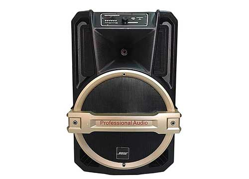 Loa kéo vali Bose ED-15D, loa karaoke 4 tấc, công suất max 450W