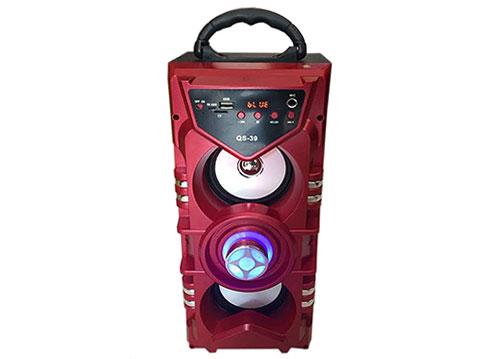 Loa nghe nhạc bluetooth - karaoke QS-39