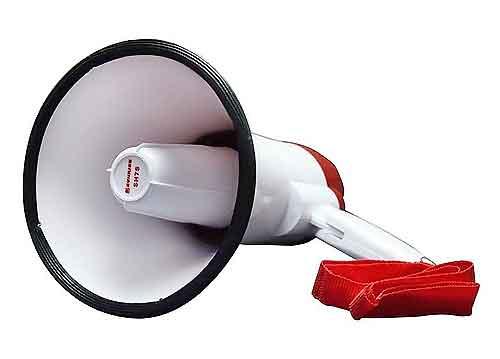 Loa phóng thanh Sunrise SH7S-MP3, công suất 25W