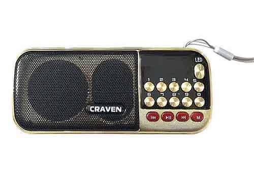Loa thẻ nhớ Carven CR-901S, loa nghe nhạc bỏ túi, RMS 3W