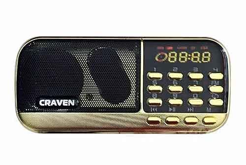Loa thẻ nhớ Craven CR-836, loa nghe pháp, công suất 3W