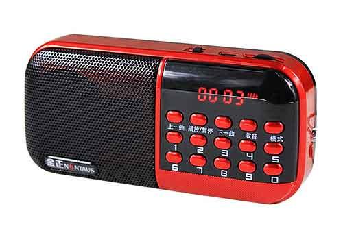 Loa thẻ nhớ Nontaus B-859, loa nghe nhạc mini, công suất 3W