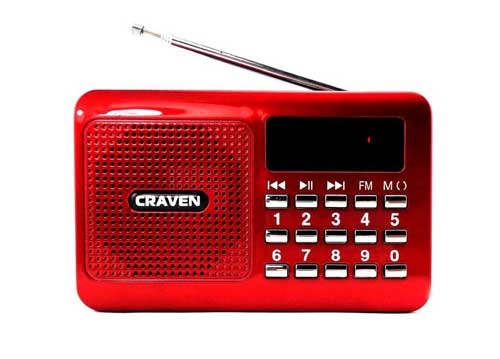 Loa Thẻ Nhớ , Usb Caraven CR-16