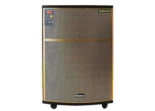 Loa vali kéo Hosan DX-4300, loa karaoke siêu trầm, công suất 900W
