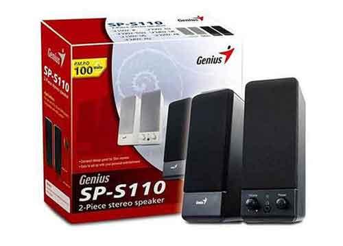 Loa vi tính Genius SP-S110, âm thanh trung thực & sống động