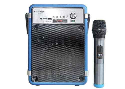 Loa xách tay Soundmax M2, loa trợ giảng & karaoke, công suất 40W