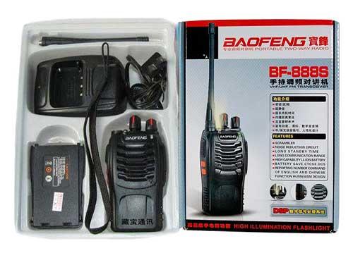 Máy Bộ Đàm 15 Band Baofeng BF-888S