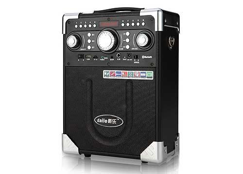 Máy trợ giảng kèm loa Daile S8, loa karaoke mini, công suất max 150W