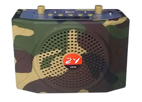 Máy trợ giảng-nghe nhạc- radio ZY E-898