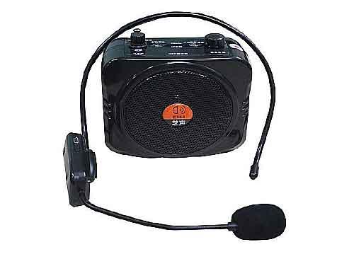 Máy trợ giảng SHUAE E366, sử dụng mic cài đầu không dây