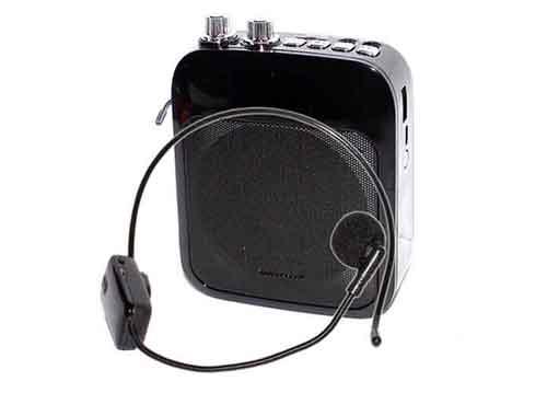 Máy trợ giảng Sunrise LY-045/ 045S, kèm mic cài đầu ko dây