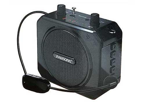 Máy trợ giảng Zansong M80, bluetooth 4.2, kèm mic không dây