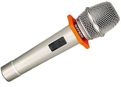 Mic có dây GUNNERS GM-8000, micro dùng trong phòng karaoke
