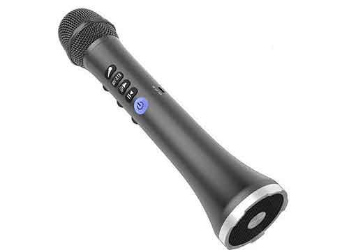 Mic karaoke bluetooth L-698, thiết kế độc đáo, RMS 15W