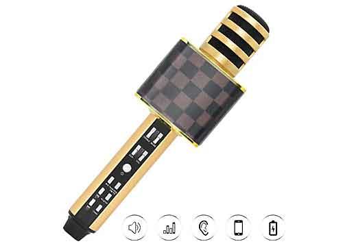 Mic karaoke bluetooth SDRD SD-18, hát hay - âm thanh to rõ