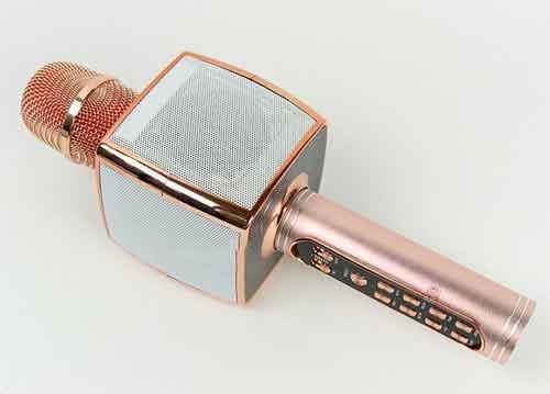 Mic karaoke bluetooth SU-YOSD YS-91, vỏ hợp kim - rất nhạy