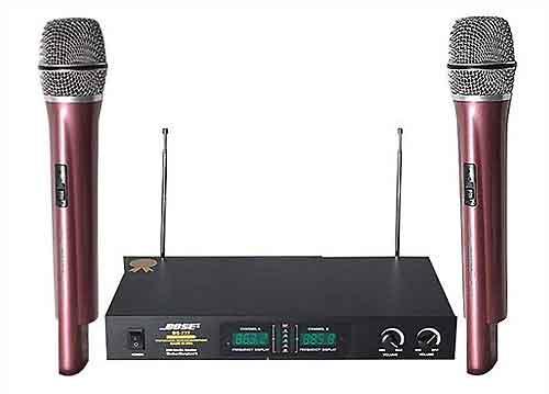 Mic không dây Bose BS-777, âm thanh trung thực - truyền cảm