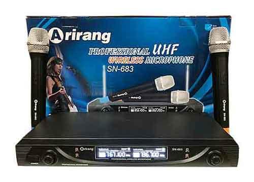 Micro không dây AIRANG SN-683, khoảng cách hiệu quả 40m