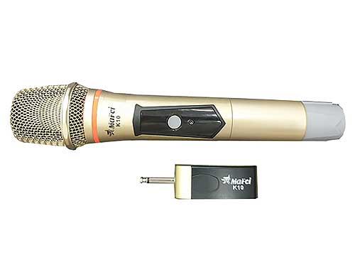 Micro không dây đa năng MAFEI K10, 1 mic và đầu thu nhỏ