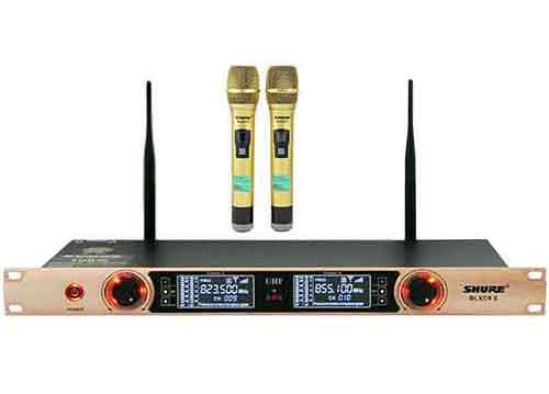 Micro không dây đa năng Shure BLXC9 II, mic karaoke TPHCM