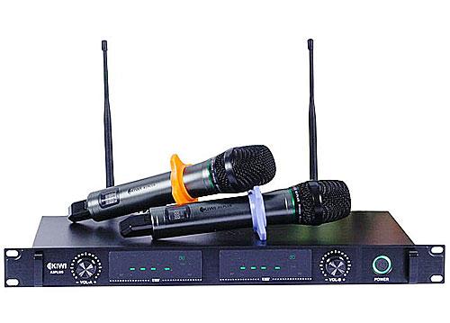 Micro không dây KIWI A3 Plus, mẫu mic giá rẻ hát cực hay