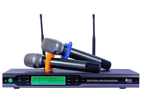 Micro không dây KIWI A5 Plus, khả năng hút âm rất tốt