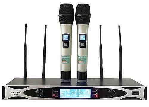 Micro không dây Shure UGS9, khoảng cách bắt sóng đến 100m