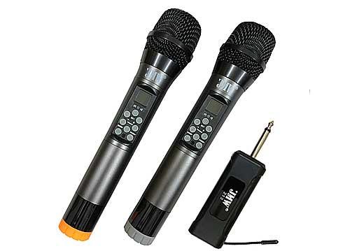 Micro ko dây JMW 213, chỉnh hiệu ứng trực tiếp trên mic