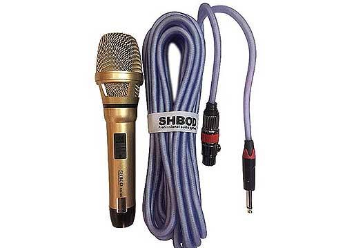 Microphone có dây SHBOD SD-96, mic cao cấp chính hãng, công nghệ Mỹ