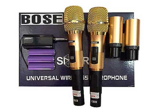 Microphone đa năng Bose U100, mic không dây dùng cho loa kéo - ampli