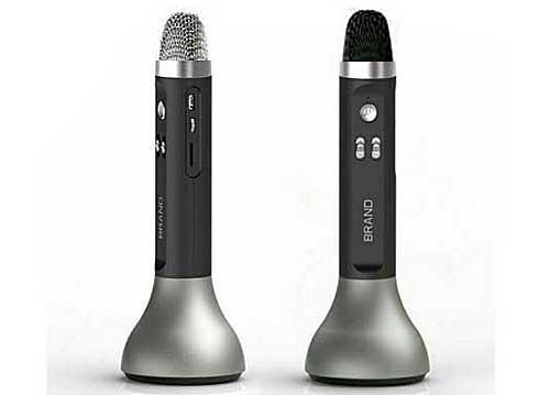 Microphone Karaoke Kèm Loa Bluetooth KTV K7