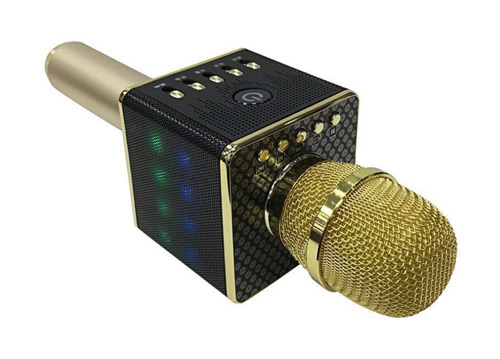 Microphone karaoke kèm loa H8