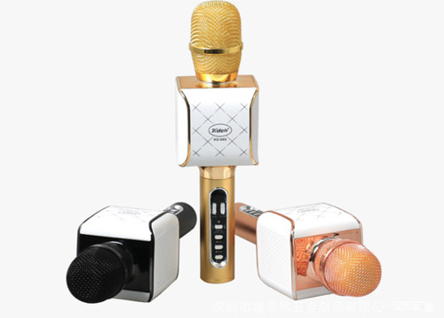 Microphone karaoke kèm loa KD-08S