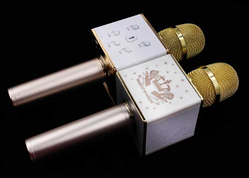 Microphone Karaoke Kèm Loa KTV Q7S