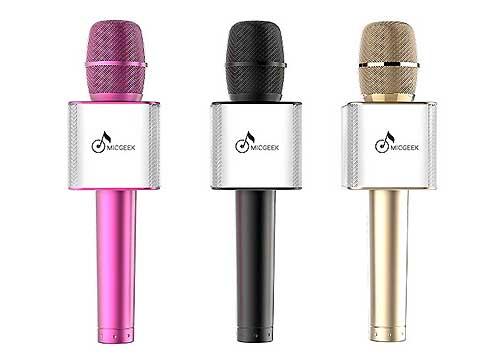 Microphone Karaoke Kèm Loa MICGEEK Q9