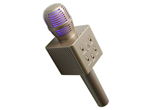 Microphone karaoke kèm loa New Q7