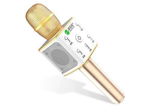 Microphone Karaoke Kèm Loa New Rixing NR-K7