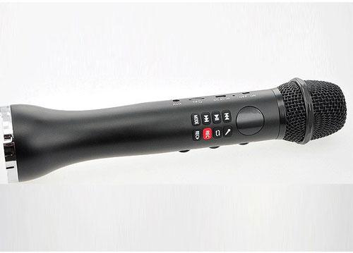 Microphone karaoke kèm loa tự sướng L-598