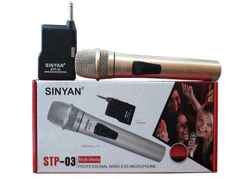 Microphone không dây đa năng STP-03