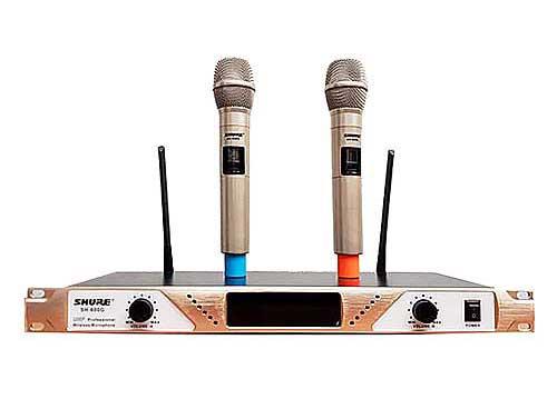 Microphone không dây Shure SH-600G & đầu thu, phạm vi 100m