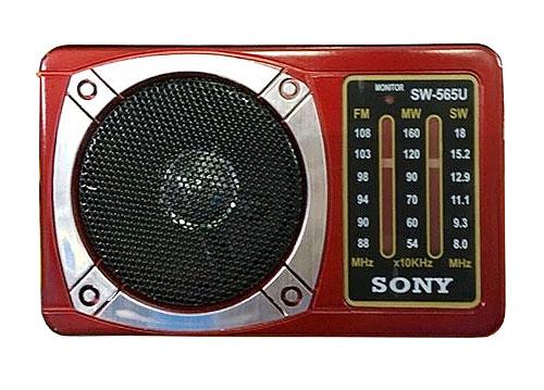 Radio 3 band SONY SW-565U, có chức năng nghe nhạc MP3