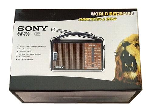 Radio chuyên dụng Sony SW 703